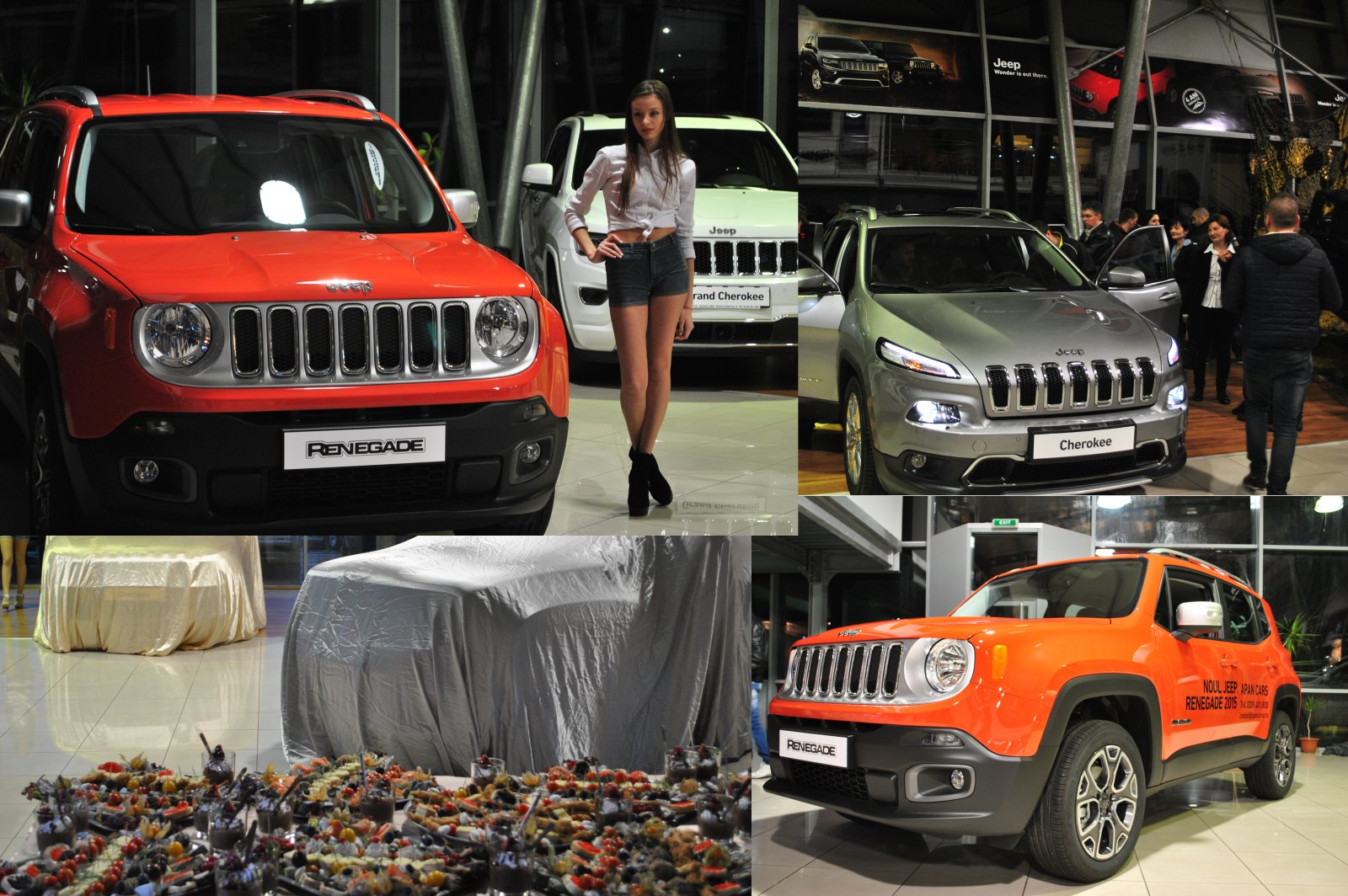 Jeep Renegade & Jeep Cherokee