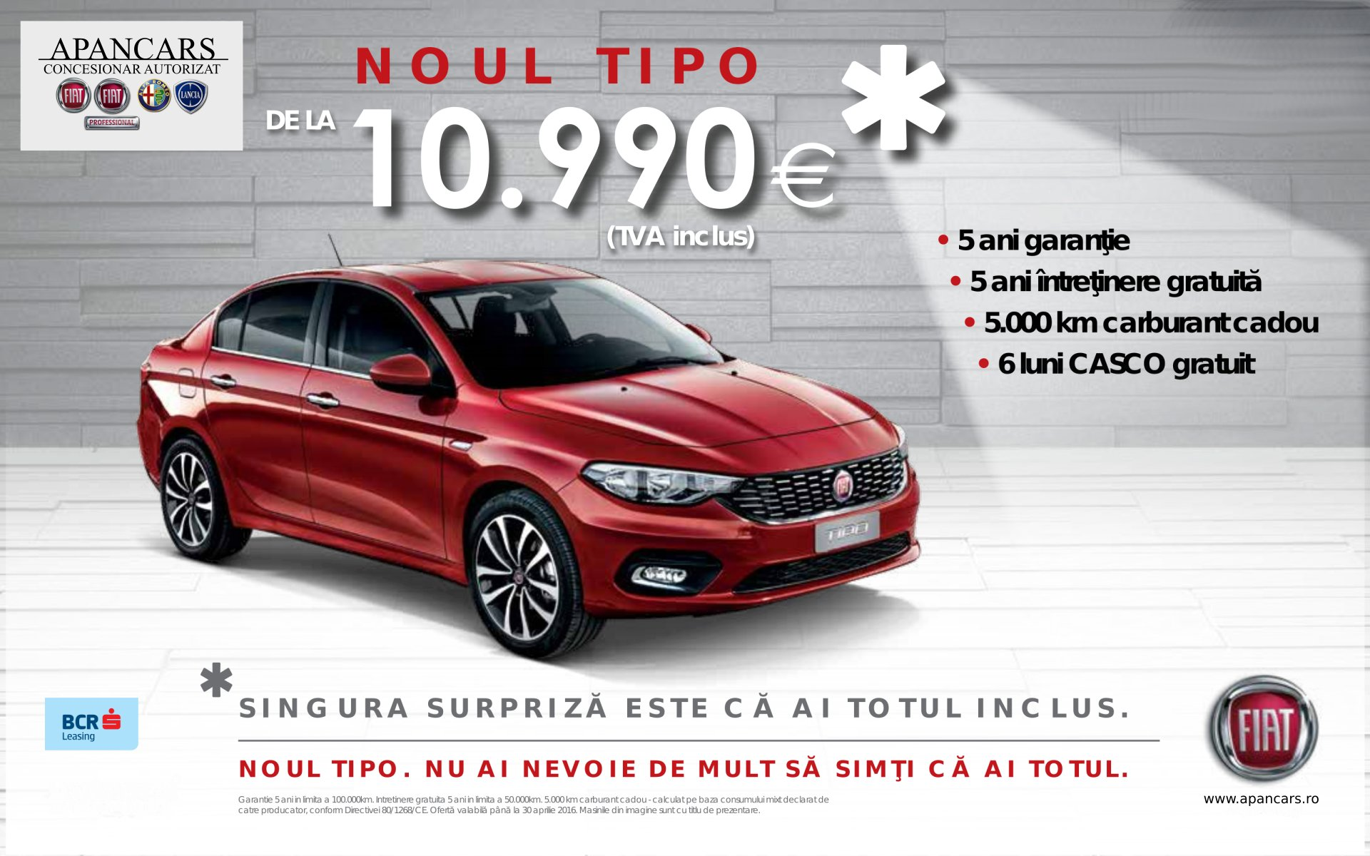 Noul Fiat Tipo